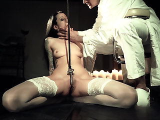 Affectionate towards distressing BDSM pleasure