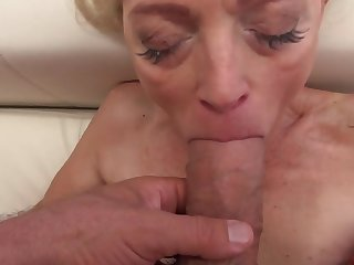 Beloved babe in arms and stunning granny have pastime with big cocks