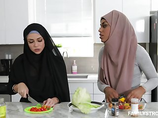 Arab chick Milu Blaze sucks a learn of and gets fucked in her pussy