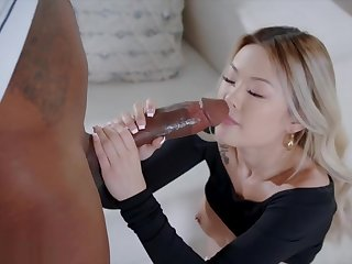 BLACKED Enticing Asian cant Resist BBC
