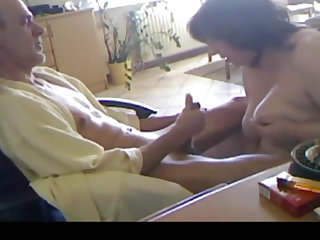 German milf gives her alms-man a staggering cock sucking