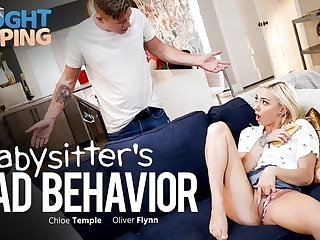 Not fair Fapping - Babysitter Busted - Gets Creampied