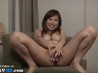 Japanese Busty Wife Laughs Report register Brusque Cum Saddle with