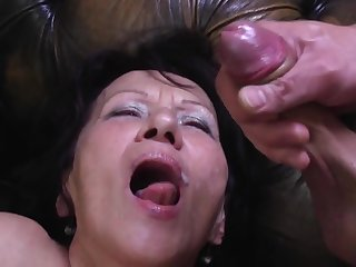 Young Self-abuse Busts his Load in Greeedy Mouth be fitting of GILF Kataline