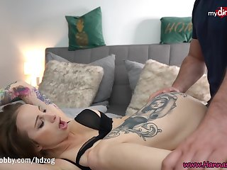 MyDirtyHobby - Gorgeous babe Hanna Secret made him cum doppelgaenger in all directions her frowardness