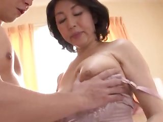 Japanese wed spreads their way legs round be fucked by their way younger suitor