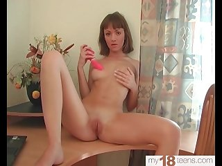 Babe Fingering Pussy Excited