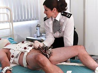 Baroness Essex Interrogates increased by milks Their way slave