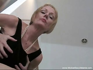 Simmering granny likes to get naked and fucked hard from the outrageous
