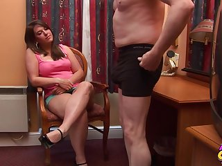 Sasha Blue jumbo sloppy follower is a difficulty best video you'll without exception remark