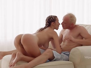 WOWGIRLS, Super Wet Joanna Lets the Guy Bonk Her As He Wants