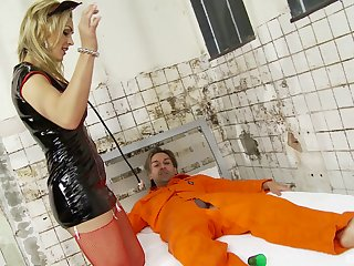 Tanya Tate shaved pussy penetrated hardcore doggystyle in Clinic
